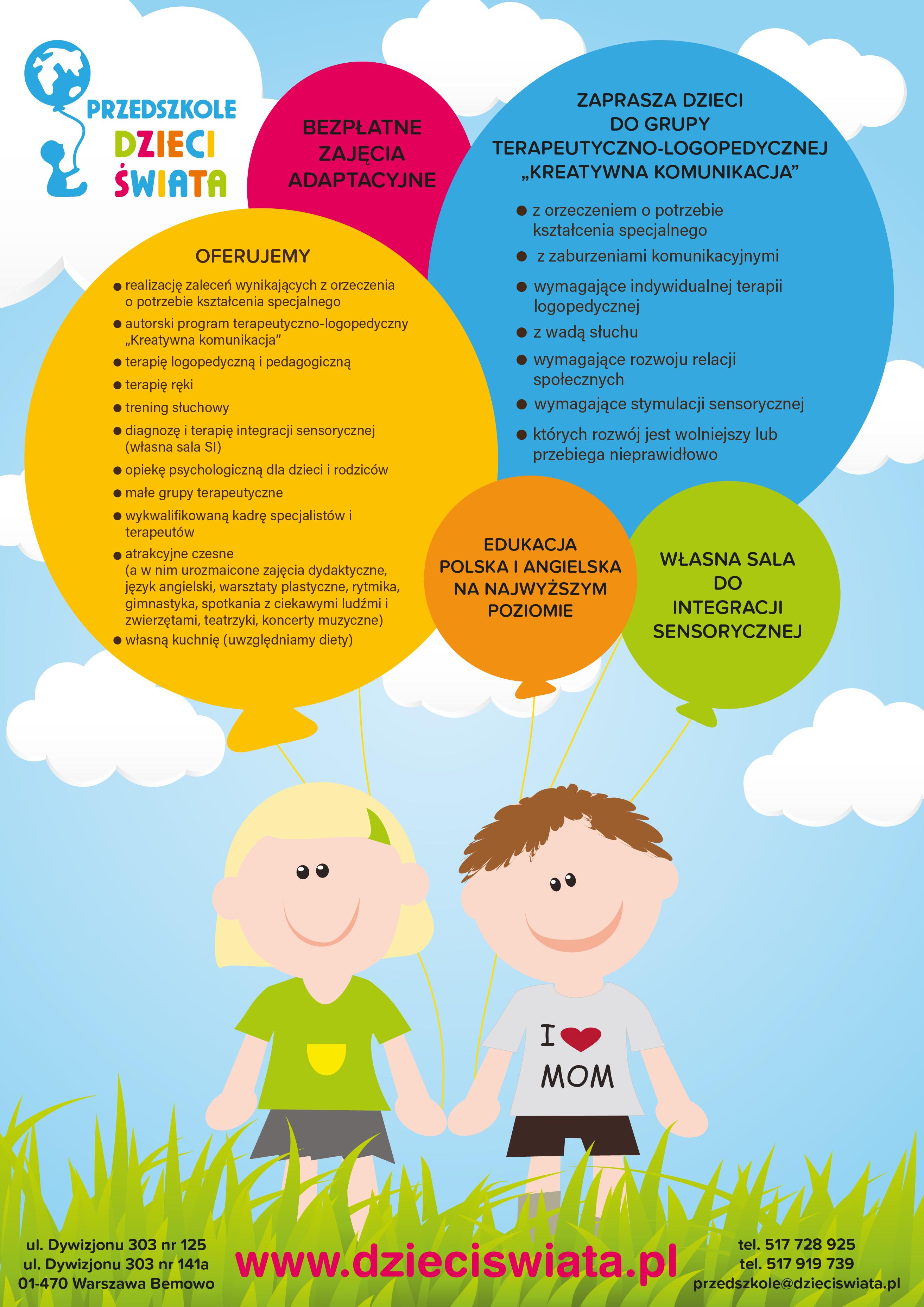 Kreatywna Komunikacja Przedszkole Dzieci Swiata